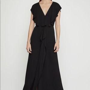 NWT Stunning BCBGMaxazria Black Evette Maxi Dress